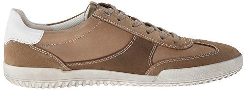 ECCO Graham, Sneaker Basse Uomo Multicolore (Mehrfarbig (Navajo Brown/Navajo Brown Birch59147))