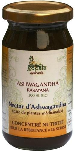 ASHWAGANDHA Rasayana BIO (500g) - Confit traditionnel de plantes formulé selon les principes de l'ayurvéda pour la resistance et le stress