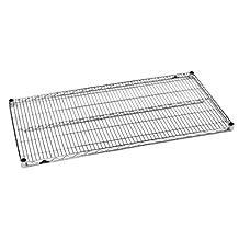 "Metro 1436BR Super Erecta Brite Steel Wire Shelf, 800 lb. Capacity, 1"" Height x 36"" Width x 14"" Depth (Pack of 4)"