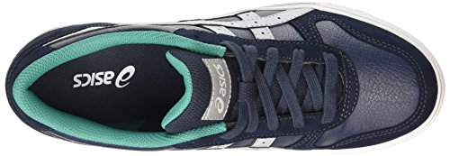 Asics Aaron, Baskets Basses Mixte Adulte Bleu (indian Ink/light Grey 5013)