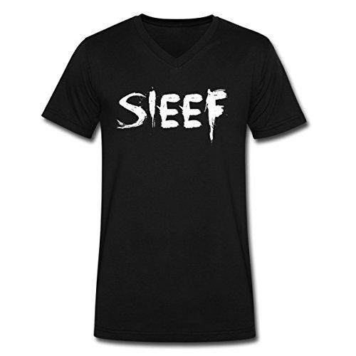Gebraucht, SIEEF Painted Männer T-Shirt mit V-Ausschnitt von Spreadshirt®, gebraucht kaufen  Wird an jeden Ort in Deutschland
