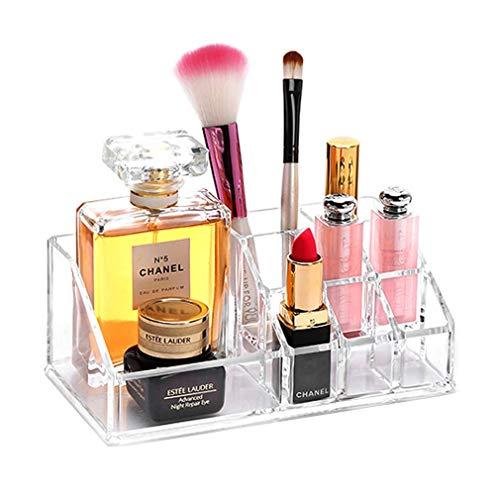 Effacer Acrylique Cosmétique Organisateur Affichage Table Plateau de Rangement Stand pour Make Up Lipstick Vernis À Ongles Artisanat Brush Sets Bijoux