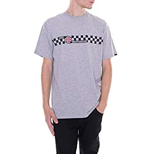 Vans – Camiseta X Independent Checkerboard/Gris