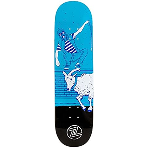 Skateboard Deck Z-Flex Mayhem - 8.5 Inch Blu (Default , Blu)