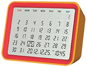 Date Ewiger Kalender (Rot/Orange)