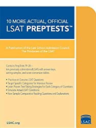 10 More Actual, Official LSAT PrepTests (Lsat Series)
