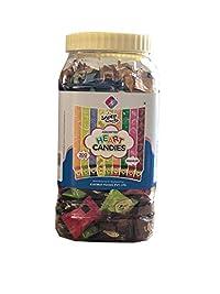 Snoep Assorted Heart Candies, 9 Flavor, 200Pcs, Jar
