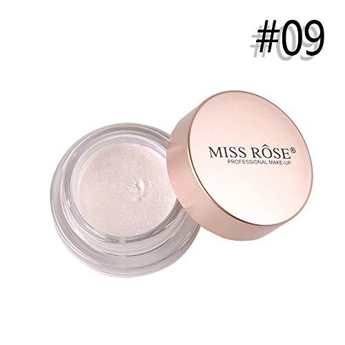 Glitter Lidschatten Pulver Palette Matte Lidschatten Kosmetik Make-up ()