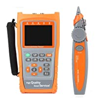 "YXMSCMULTITEC Handheld IP CCTV Camera Tester Monitor AHD CVBS PTZ UTP Cable Network Video Audio Test Receiver Wire Tracking RS485 3.5"" HD"