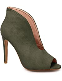 La Modeuse - Zapatos de Vestir de Material Sintético Mujer