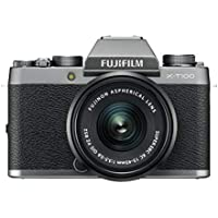 Fujifilm X-T100 Dark Silver with Black XC15-45mm lens