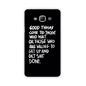The palaash Mobile Back Cover for Samsung Galaxy A7