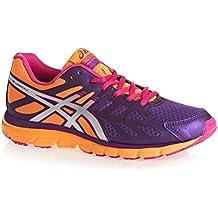 Asics Gel Zaraca 3 - Zapatillas de running para mujer, color Rasp/Silv/Purp, talla 36