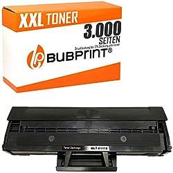 Bubprint XXL Toner 200 Prozent mehr Inhalt kompatibel für Samsung MLT-D111S für Xpress M2020 M2020W M2021W M2022 M2022W M2026 M2026W M2070 M2070F M2070W M2070FW Schwarz