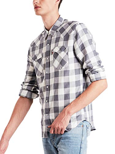 Levi´s ® Herren Hemd JEANSHEMD Barstow Western Stowe Quiet Shade L - L/s Western Shirt