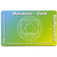 Saldeitis Metabolic-Card (Schwingungsträger-Frequenzkarten) preisvergleich bei billige-tabletten.eu