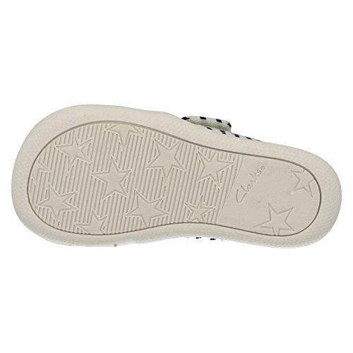 Clarks pour garçon textiles saisonniers Briley Fst Chaussures d'été en toile bleu marine Bleu - bleu