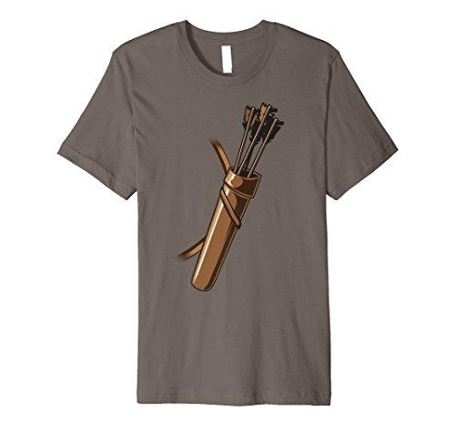Archer Kostüm Halloween Tshirt–Funny Bogenschießen Pfeil ()