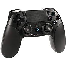 Wireless controller for PS4 Controller, Shumeifang mit Dual-Vibration- Touch-Panel + Rutschhemmung + integrierte Farb-LED + Kopfhörer-Jacke Wireless Gamepad ist gut für PS4 / PS3