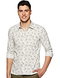 Pepe Jeans Men's Printed Regular fit Casual Shirt