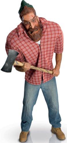 Generique - Big Bruizer Holzfäller-Kostüm für - Herren Holzfäller Kostüm