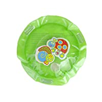 Inflatable Water Play Mat,BaojunHT® Baby Tummy Time Activity Center,Funny Indoor and Outdoor Pad Infant Bath Toys (A,B,28CM)