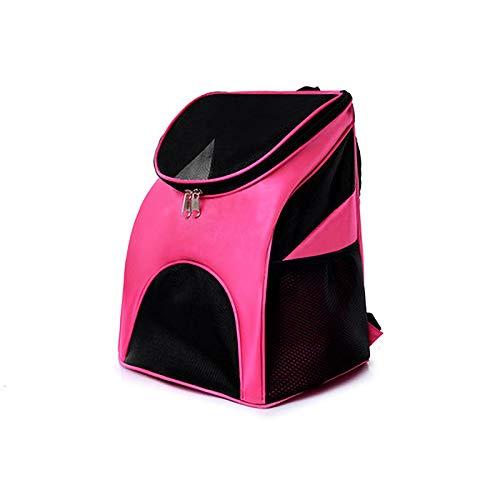 Wjdm pet dog carrier cat outdoor viaggi carrier packbag portatile zaino della spalla del doppio forniture di maglia rimovibile