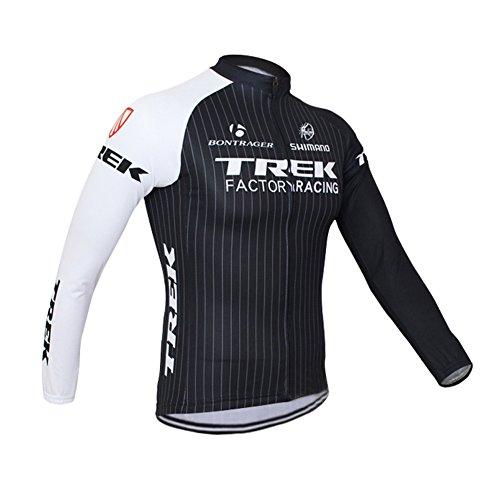 Strgao 2016 Herren Winter Radtrikot Pro Team Trek MTB Thermal Langarm Radjacke Radfahren Oberteil (Bontrager Super)