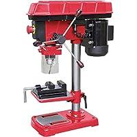 WALTER Tischbohrmaschine 500 W mit schwenkbaren Bohrtisch für schräge Bohrungen, inkl. Bohrtiefenanschlag und Maschinenschraubstock