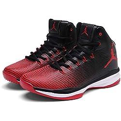 Zapatillas De Baloncesto 2018 Para Nuevos Hombres Zapatillas De Baloncesto Para Otoño En La Primavera Zapatillas,Red,41