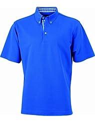JAMES & NICHOLSON Poloshirt  Men's Plain - Polo - Homme