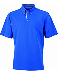 JAMES & NICHOLSON Poloshirt  Men's Plain - Polo - Homme