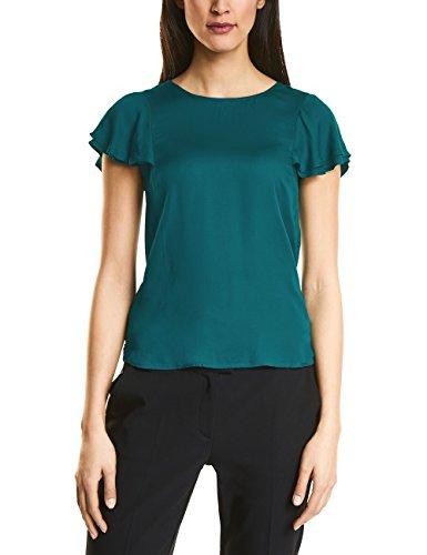 Teal Green (Street One Damen 311973 T-Shirt, Grün (Teal Green 11270), 38)