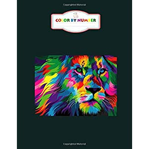 Color by Number: Animals Coloring Books for Kids (Adult Coloring) - 8.5 x 11 Inches