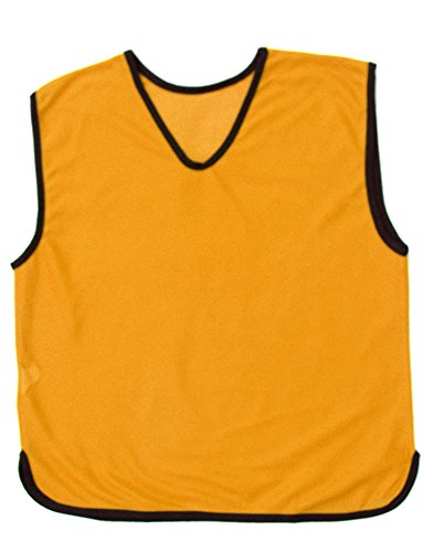 10-X-PROSPO-Training-Bibs-Sports-Mesh-Bibs-Football-Soccer-Rugby-Sports-Bibs-16-Colours-4-Sizes