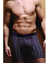 Kickers - Boxer - - À rayures Homme Violet Purple Stripe (1pp Medium)