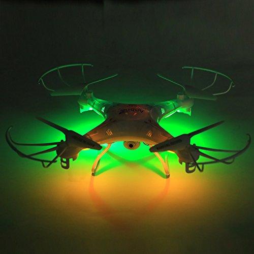 Arshiner Q5C Quadcopter RC Drone RTF 4CH 6 Achsen-Gyro 2.4GHz Headless Modus 3D Flip mit FPV 2MP 1080P HD-Kamera