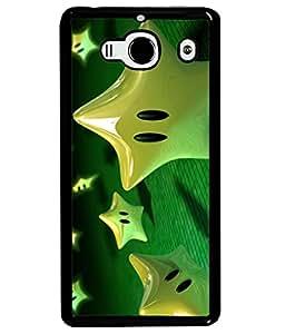 Fuson Designer Back Case Cover for Xiaomi Redmi 2 :: Xiaomi Redmi 2S :: Xiaomi Redmi 2 Prime (Dancing Water Aqua life Bricks Blocks)