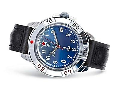 Vostok Komandirskie Mens Mechanical Russian military watch #431289 de Vostok Komandirskie