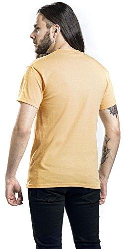 Mastodon Tattooed Hand T-Shirt gelb Gelb