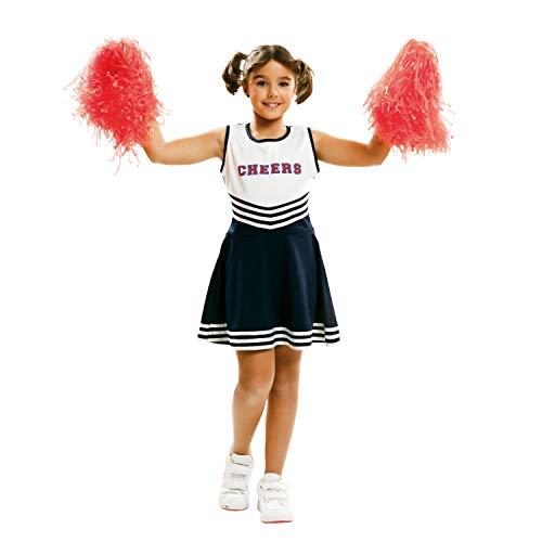 Zubehör Kostüm Dea - Partychimp 83-02105 - Cheerleader, Kinderkostüm, 5-6 Jahre, weiß
