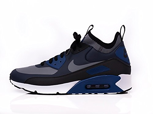 NIKE AIR MAX 90 ULTRA MID WIN 924458-401 Herren Schuhe Winter (44, Blau)