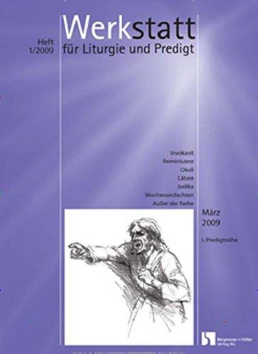 Werkstatt für Liturgie + Predigt [Jahresabo]