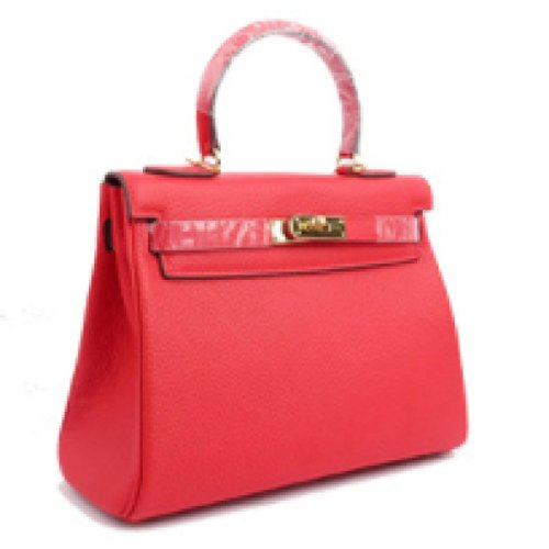 Borse In Pelle Mini Packet Diagonale Portatile Platinum Red