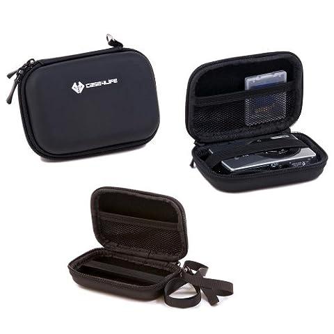 Case4Life Rigide Noir étui housse appareil photo numérique pour Canon