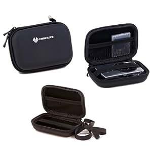 Case4Life Rigide Noir étui housse appareil photo numérique pour Samsung DV, ES, PL, SH, ST, WB série - Garantie à vie