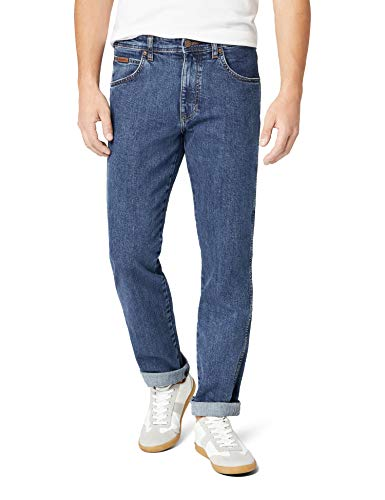 Wrangler Herren Arizona Stretch W12OXG77O Jeans, Blau (Rolling Rock), 38/36(UK)