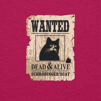 NERDO - Wanted Cat - Damen Kapuzenpullover Fuchsia