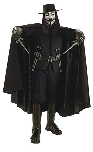 age Herrenkostüm, Größe:XL (V Vendetta Halloween Kostüm)
