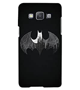 Citydreamz Batman Logo Hard Polycarbonate Designer Back Case Cover For Samsung Galaxy J7